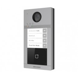 IP вызывная панель DS-KV8413-WME1/Flush